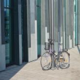 Fahrrad an Uni