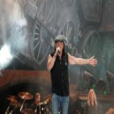 Brian Johnson bei einem Konzert in Leipzig (2009)