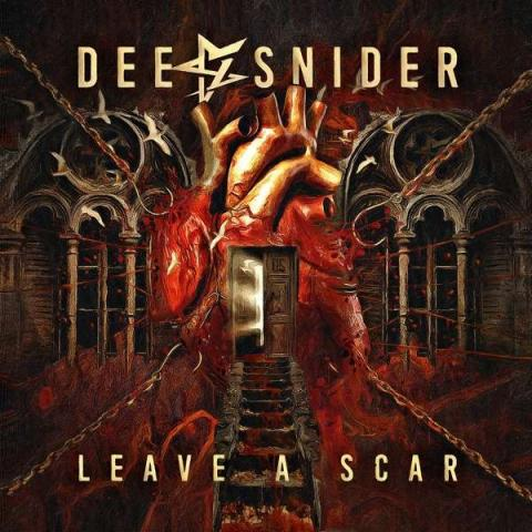 """Albumcover: Dee Snider """"Leave A Scar"""""""