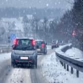 Verkehr im Winter