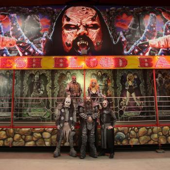 Lordi und ihre Geisterbahn